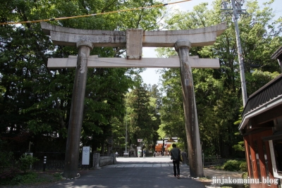 穂高神社(安曇野市穂高宮脇)3