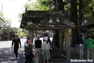 穂高神社(安曇野市穂高宮脇)6