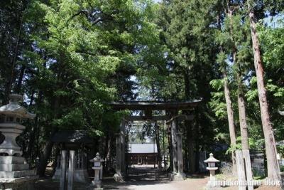 諏訪神社(安曇野市三郷温)1