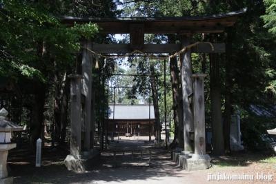 諏訪神社(安曇野市三郷温)2