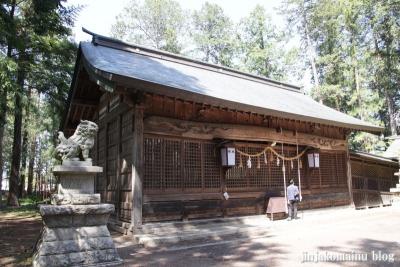 諏訪神社(安曇野市三郷温)10