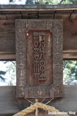 諏訪神社(安曇野市三郷温)3