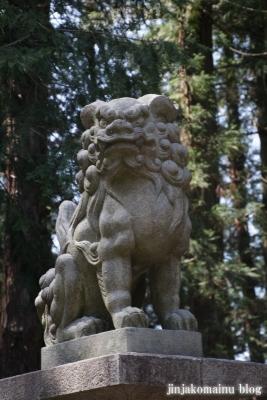諏訪神社(安曇野市三郷温)8