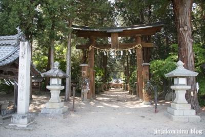 住吉神社(安曇野市三郷温)1