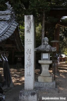 住吉神社(安曇野市三郷温)2