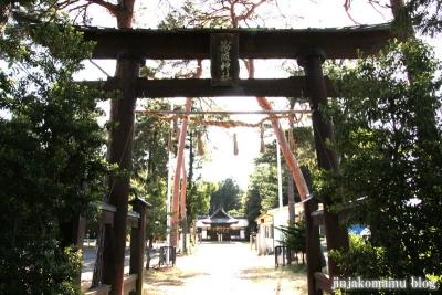 細萱洲波神社(安曇野市豊科南穂高西浦)16