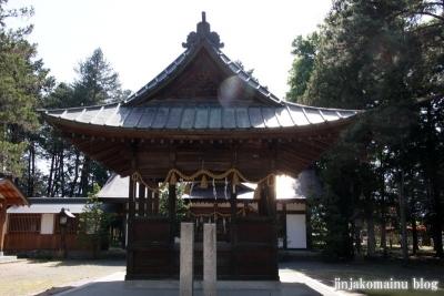細萱洲波神社(安曇野市豊科南穂高西浦)18