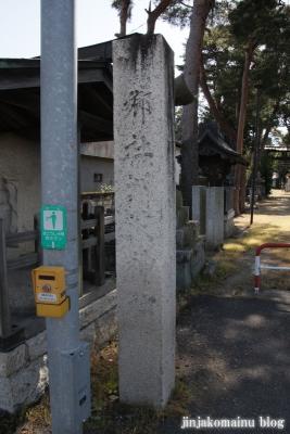 細萱洲波神社(安曇野市豊科南穂高西浦)3