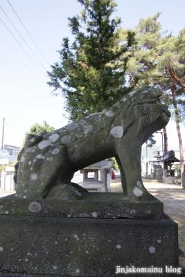 細萱洲波神社(安曇野市豊科南穂高西浦)8