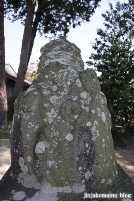 細萱洲波神社(安曇野市豊科南穂高西浦)9