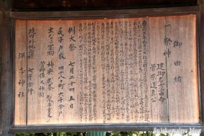 深志神社(松本市深志)17