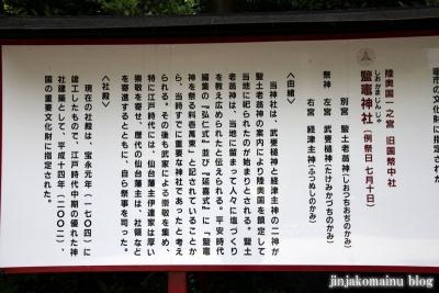 塩竈神社  (塩竈市森山)81