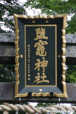 塩竈神社  (塩竈市森山)114