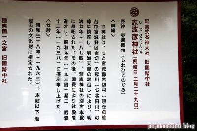 志波彦神社 (塩竈市森山)3