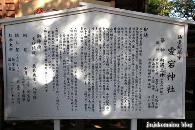 仙台愛宕神社   (仙台市太白区向山) 14