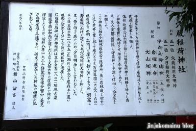 穴蔵神社 (仙台市青葉区霊屋下)6