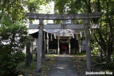 馬上蠣崎神社  (仙台市青葉区片平)1