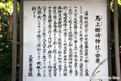 馬上蠣崎神社  (仙台市青葉区片平)2