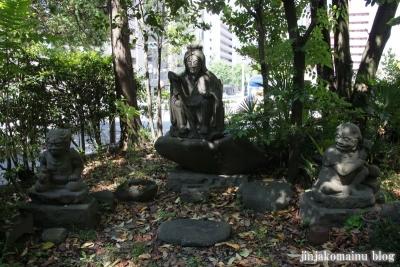 馬上蠣崎神社  (仙台市青葉区片平)4
