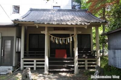 馬上蠣崎神社  (仙台市青葉区片平)10