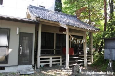 馬上蠣崎神社  (仙台市青葉区片平)12