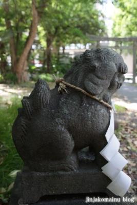 馬上蠣崎神社  (仙台市青葉区片平)15