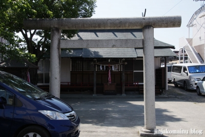堤町天神社  (仙台市青葉区堤町)1