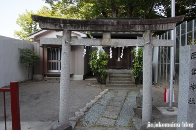 磐上雨宮神社  (仙台市青葉区堤通雨宮町)4