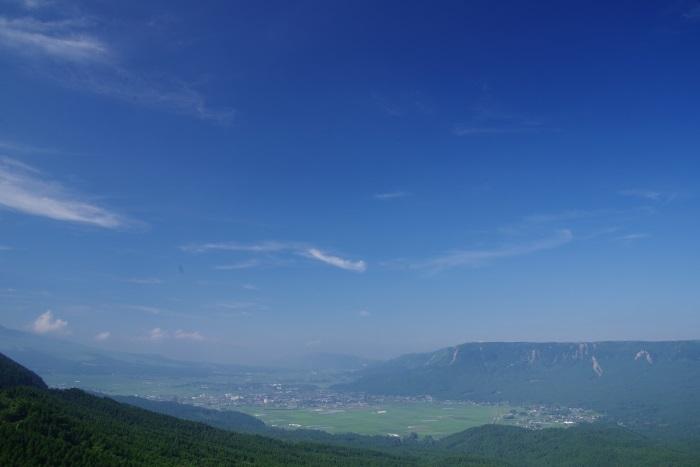 広がる阿蘇の景色