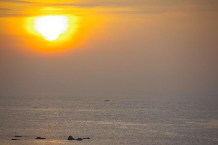 夕日のロマン