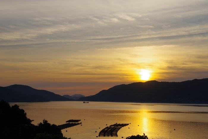 笠戸島夕陽