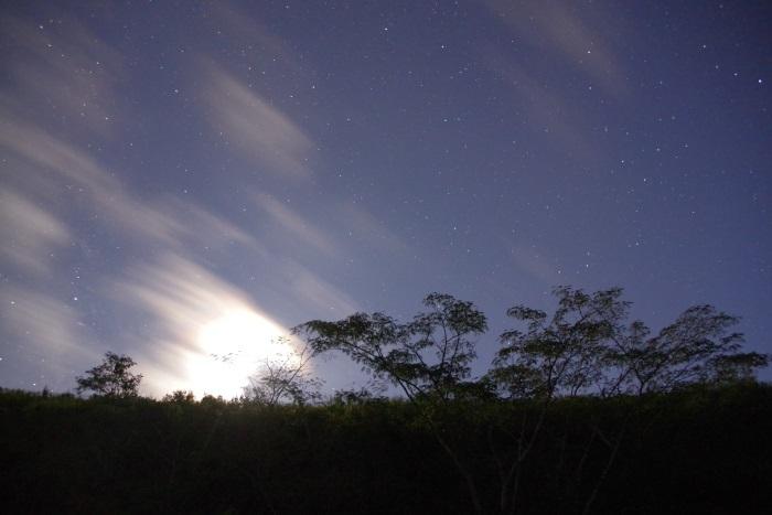 月明りと雲のファンタジー