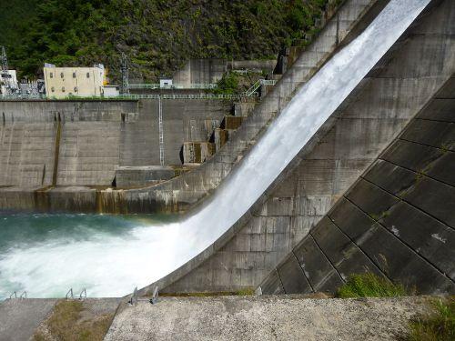 2015年6月28日下久保ダム点検放流放流ポイント近く