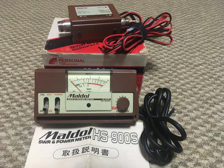 DJ-G7/SWR計