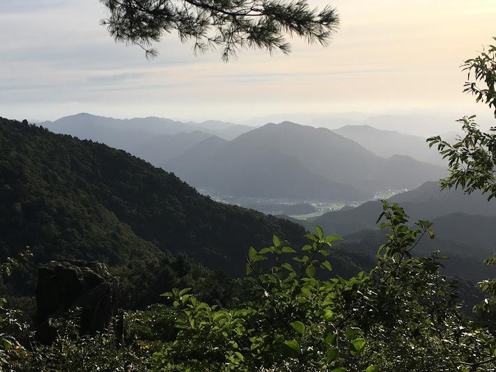 2018笠形山/景色