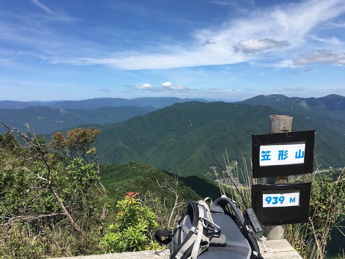 2018笠形山/撤収