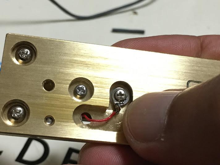さえずり電鍵/ハンダ