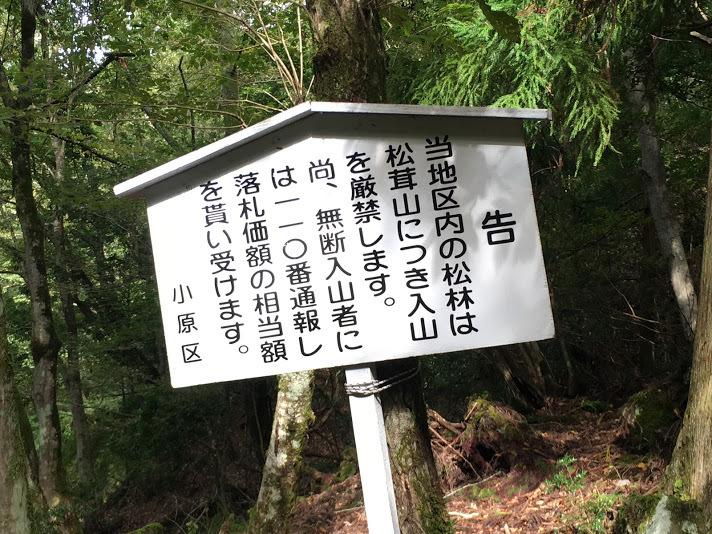 2018八ヶ尾山/入山禁止
