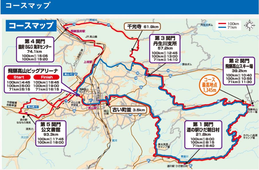 飛騨高山2018コース