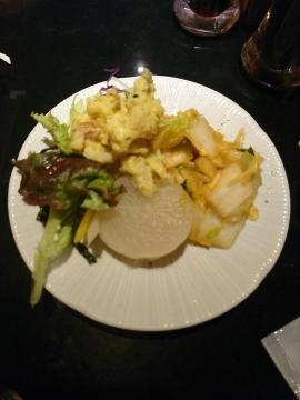 クリエイトレストランツ 串揚げBANZAI 鶏の甘辛揚げ定食03 201803