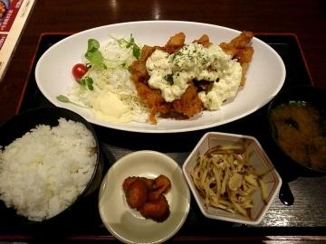 カッパ・クリエイト 北海道 チキン南蛮定食01 1804