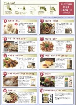 日本コンセプト 優待案内 カタログ01 201806