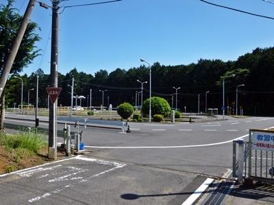 松尾城_松尾自動車教習所
