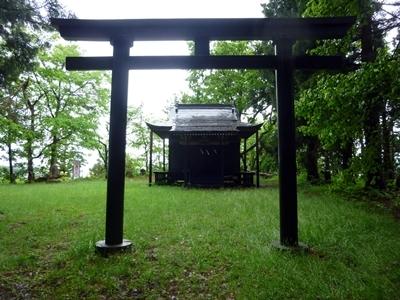大鳥井山_大鳥井山神社