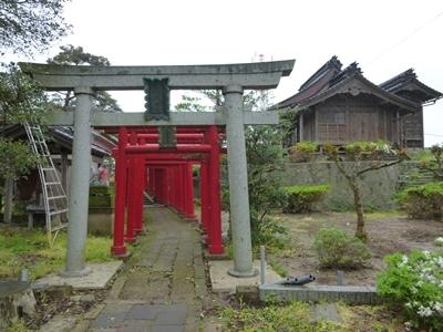鶴ヶ岡城_御城稲荷神社