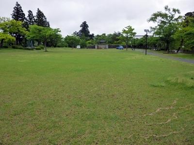 鶴ヶ岡城_二ノ丸