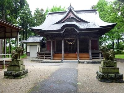 新田目城_大物忌神社