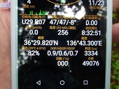鷹巣城_GPS