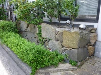 鞆城_三ノ丸石垣