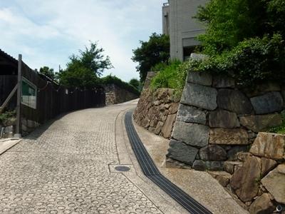 鞆城_本丸石垣1